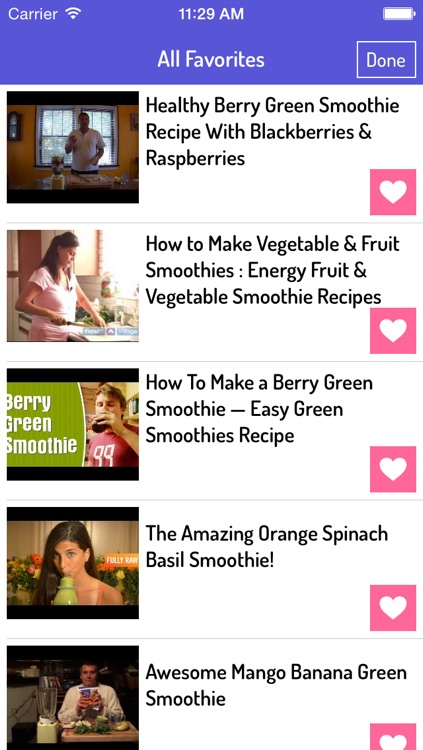 Smoothie Recipes - Best Smoothie Recipes screenshot-2