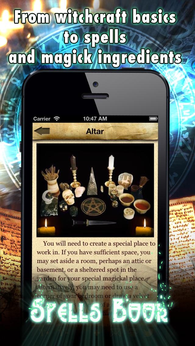 Spells And Witchcraft Handbook review screenshots