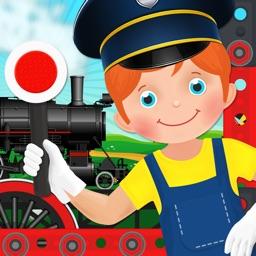 Train Simulator Maker Games Build & Drive Car Fun Game for kids boys and girls