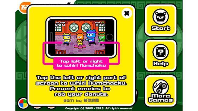 KungFu Battle -- Tappi Bear screenshot-3