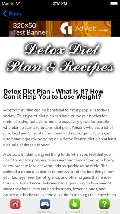 Detox Diet Plan & Recipes Made Easy screenshot one