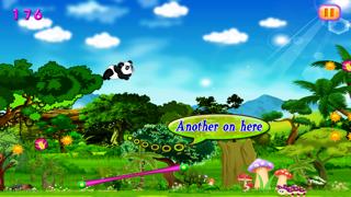 Sky Dash Baby Panda : Bamboo Paradise Jump Screenshot on iOS