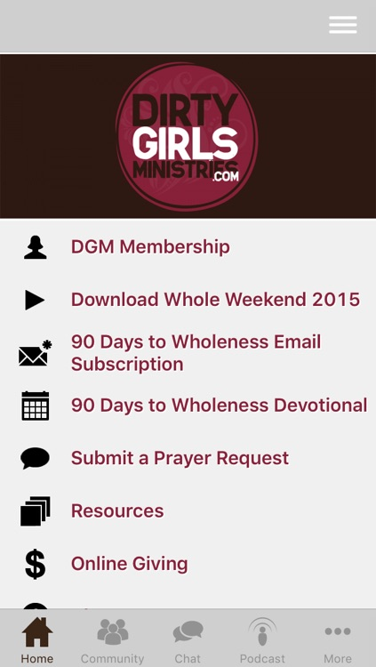 Dirty Girls Ministries screenshot-0