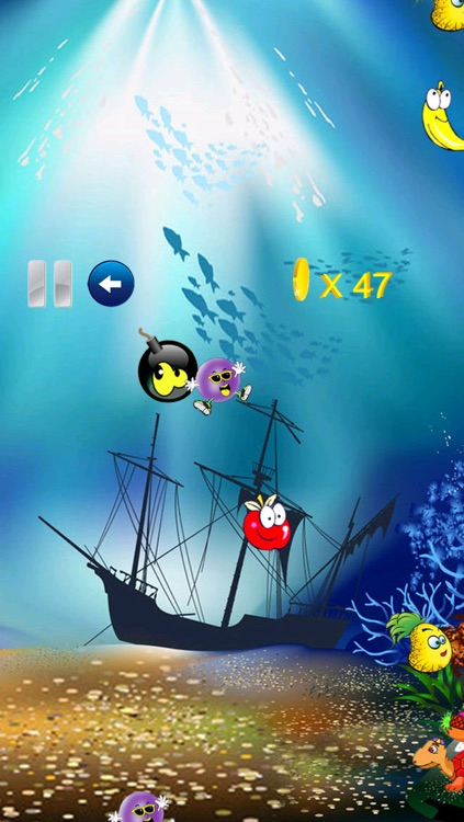 Fruits shooter game - simple logical game for all ages HD Free screenshot-3