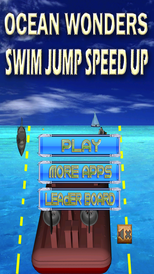Ocean Wonders - Hovercraft Racing Game screenshot one