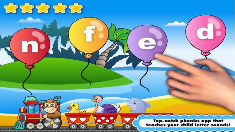 Phonics Island, Letter Sounds games & Alphabet Learning: Preschool Kids Reading screenshot-3