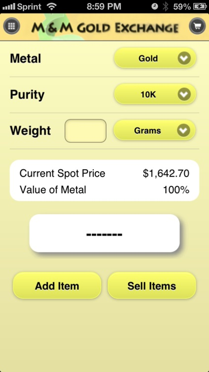 Gold Calc: Precious Metals Calculator by Mike Mohs