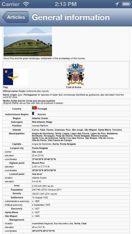 Azores Offline Map - PLACE STARS screenshot-4