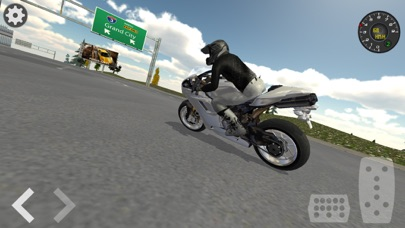 Extreme Motorbike Racer 3D screenshot four