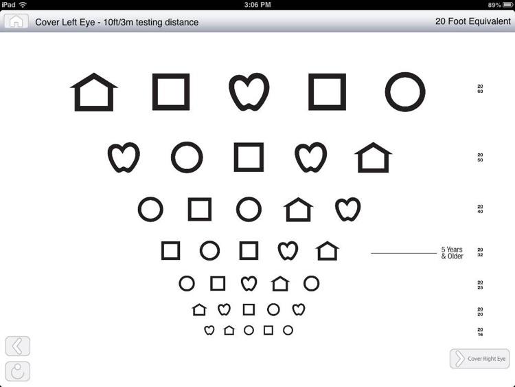 AAPOS Vision Screening App screenshot-3