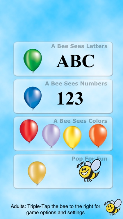 A Bee Sees - Learning Letters, Numbers, and Colors for Children