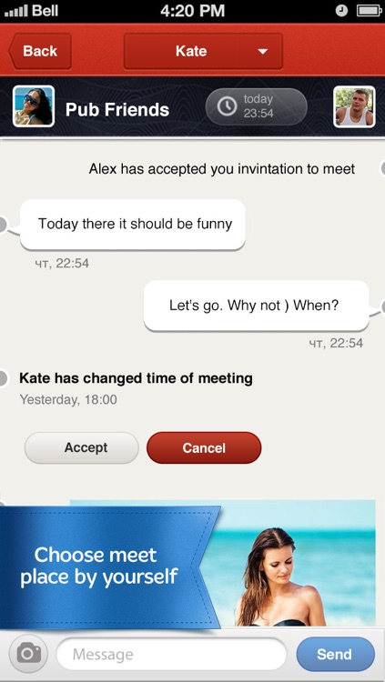 Go&date — dating social network. Enough of just talking, start to meet with Go&date right now! screenshot-4