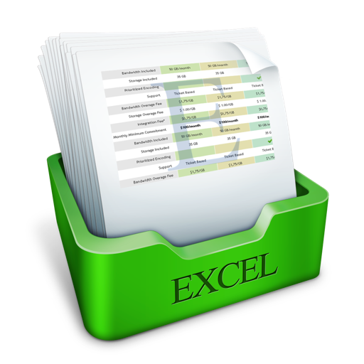 Templates for Excel