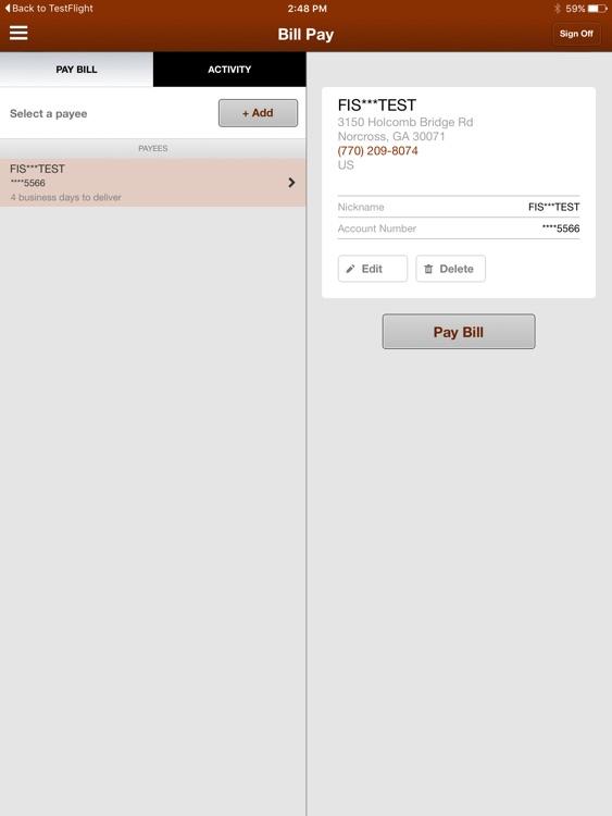 Marquis Bank Mobile for iPad screenshot-3