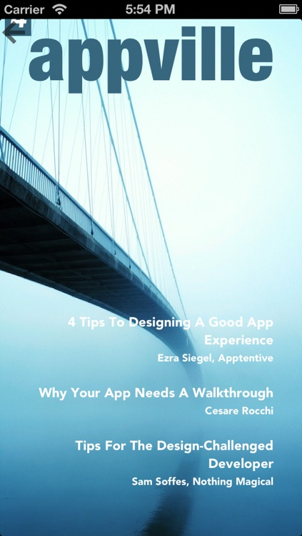 App Ville - iPhone and iPad Magazine for iOS Developers and Publishers screenshot-1