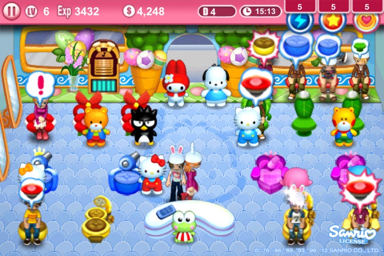 Hello Kitty Beauty Salon Seasons screenshot-1
