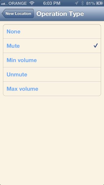 Auto Mute By Location screenshot-4