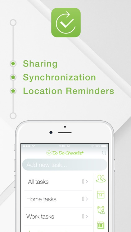 To Do Checklist - Share Tasks & Location Reminders