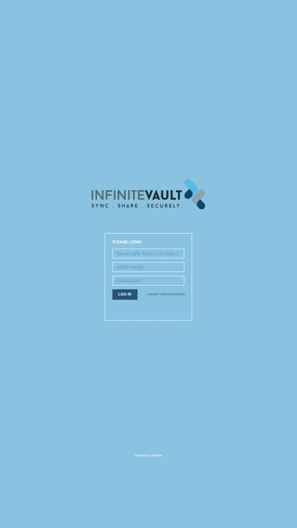 INFINITEVAULT - SYNC.SHARE.SECURELY