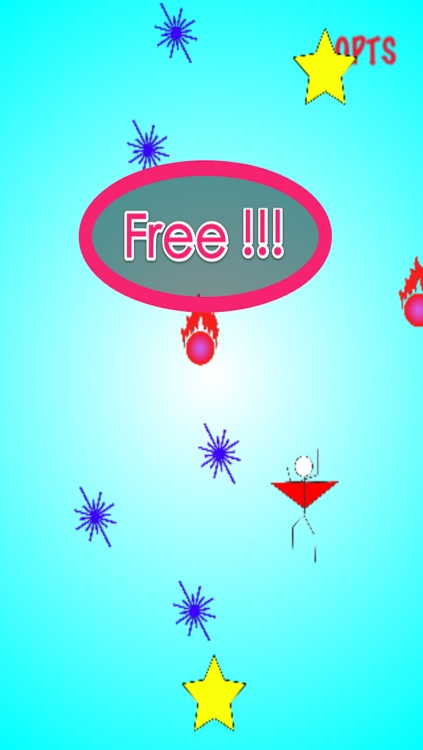 Adventure of Stickman: Fly In Space Free - Action Game screenshot-3
