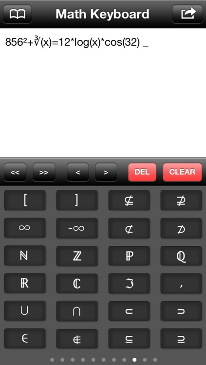Math Keyboard