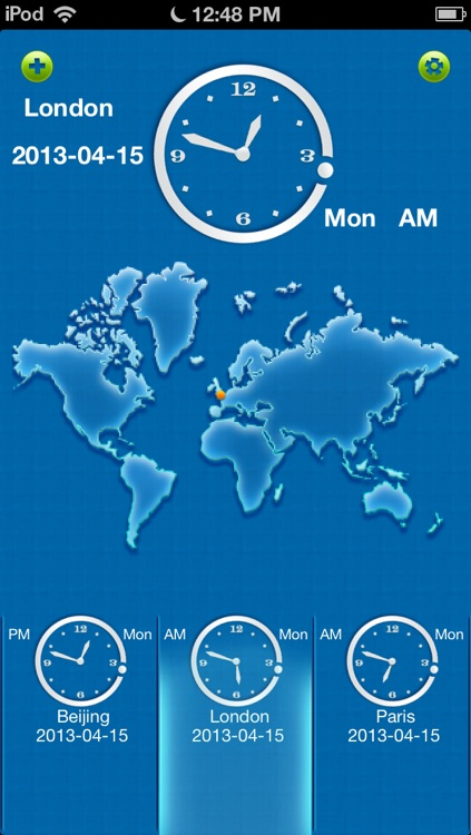 A+ World Clock