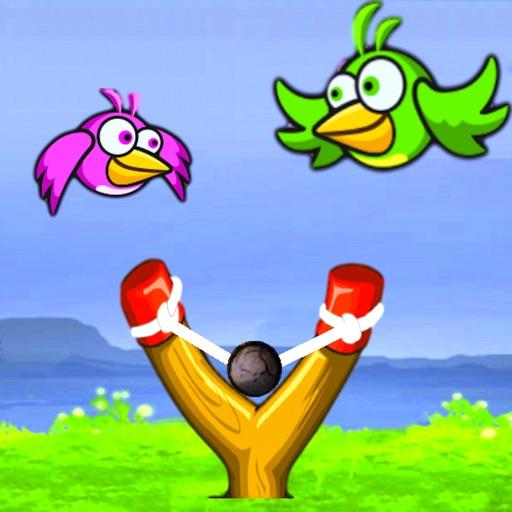 Flappy Рогатка Птица шутер: A Птицы съемки игры