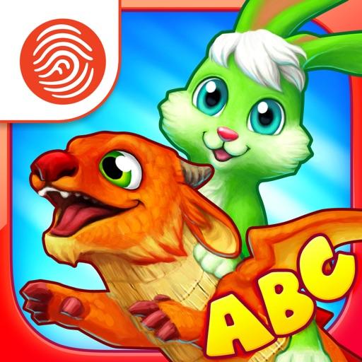 Wonder Bunny Alphabet Race - A Fingerprint Network App