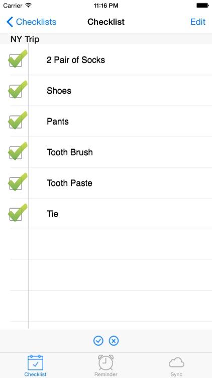 Checklist - Super Fast Reminders, To-Do Lists & Tasks