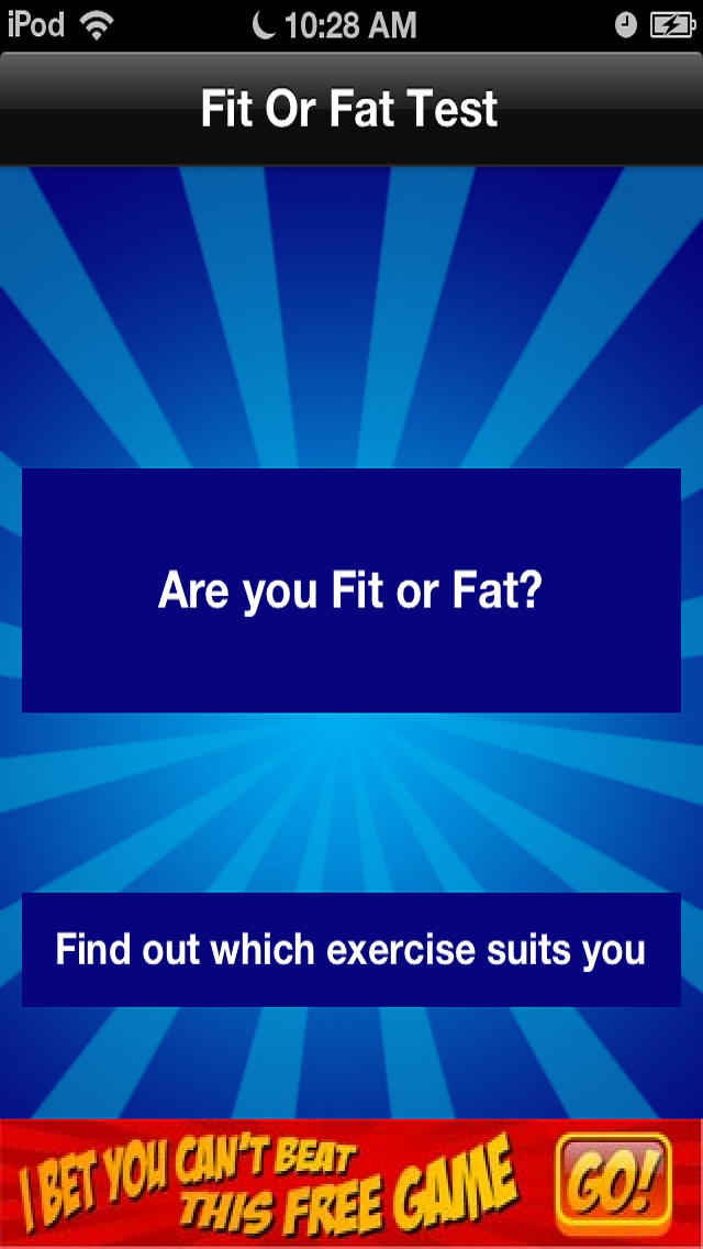 Fit or Fat Free screenshot two
