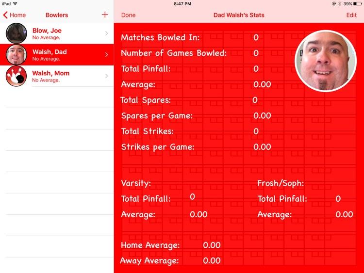 Bowling Book Keeper screenshot-4