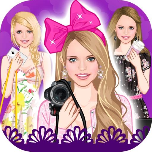 Цветочный принт тред сезона - летняя одевалка для девочек