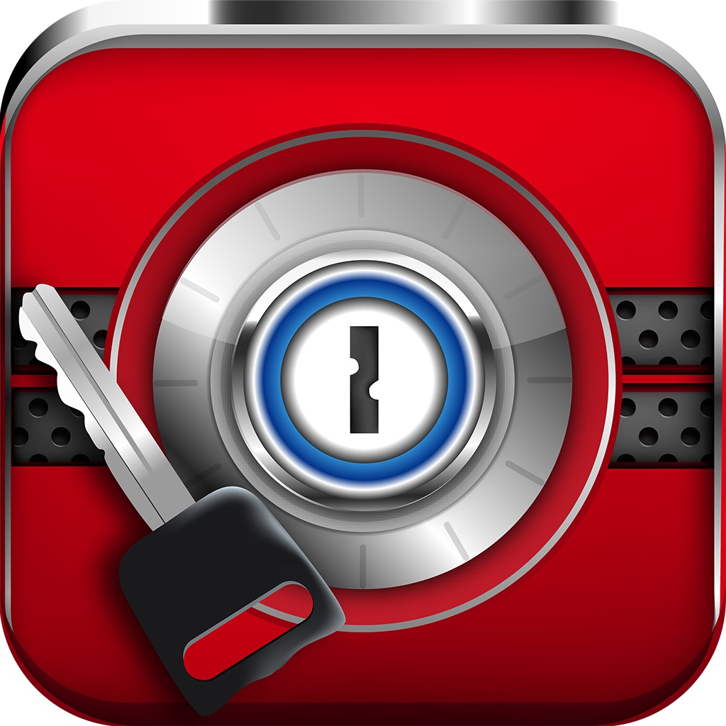 Passwords Vault+ Password Photos & Videos for iPhone, iPad and iPod Touch icon