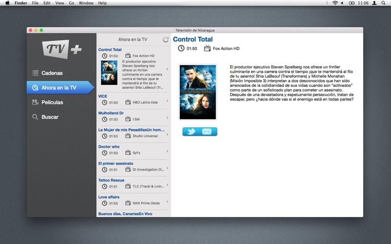 Televisión de Nicaragua скриншот программы 2