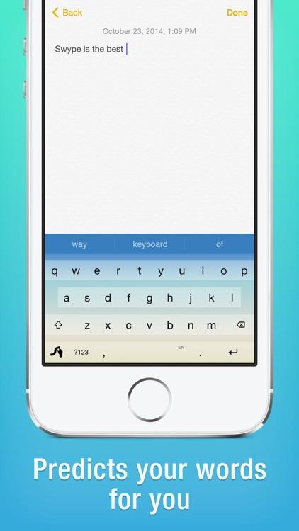 Swype screenshot-3