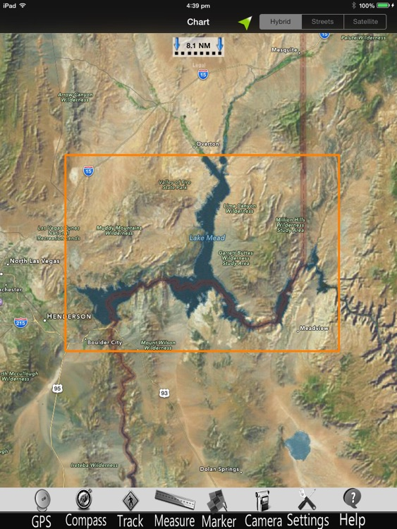 Lake Mead Nautical Charts Pro screenshot-4