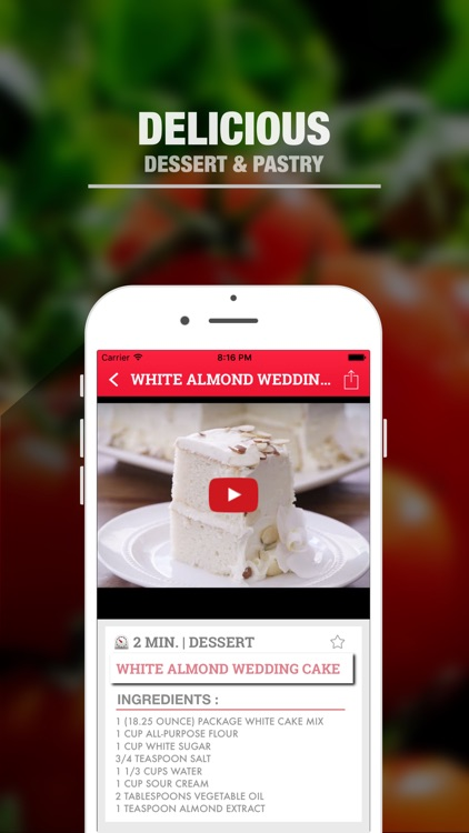 Video Recipes - Learn to cook like a top chef