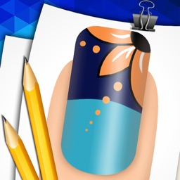Step by Step Draw Funny Nail Art