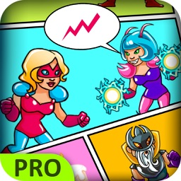 Superheroes Comics Creator Pro