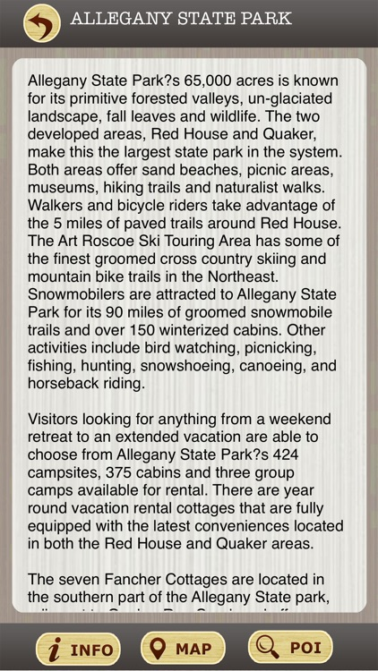 New York State Parks & National Parks Guide screenshot-3