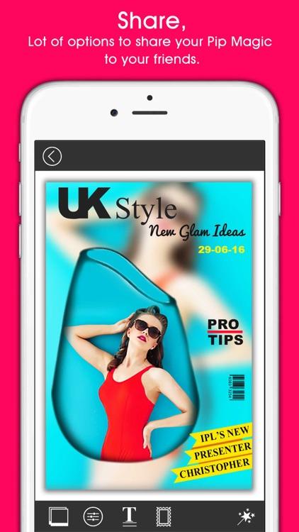 PIP Magic - Selfie Camera App screenshot-3