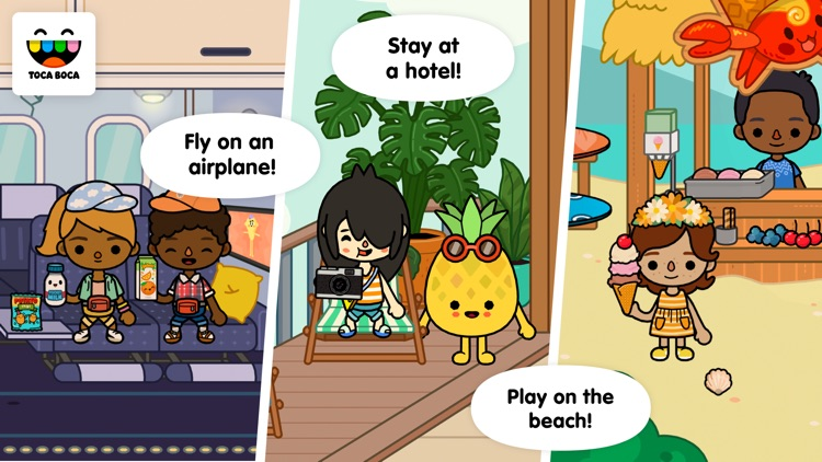 Toca Life: Vacation app image