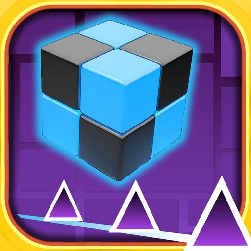 Cube Race - Swish color block jumping