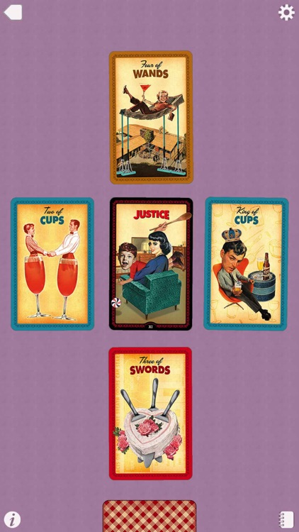 Housewives Tarot screenshot-4