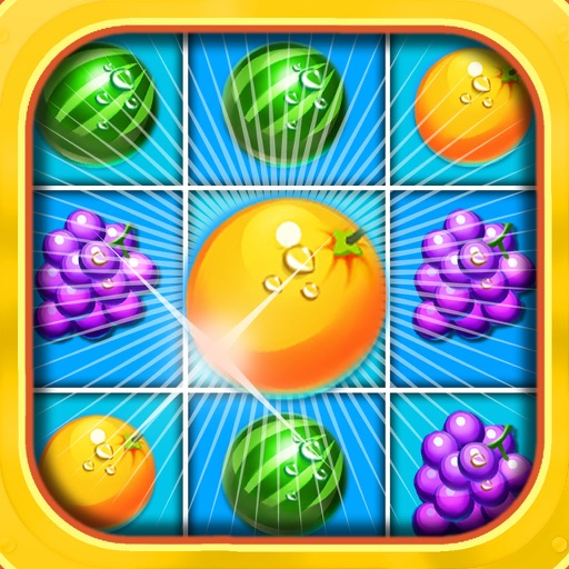 Fruit Blitz Frontline - Fruit Adventure Grand Match-Three Puzzle Challenge