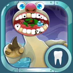 Ice Pets Dentist Adventures – Pete's Crazy Tooth Games for Kids Free
