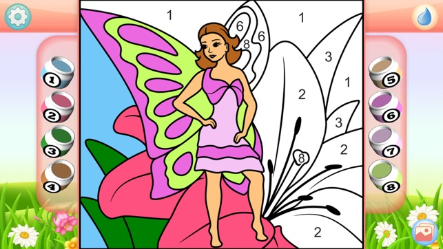 Fairies Coloring Book + on the App Store