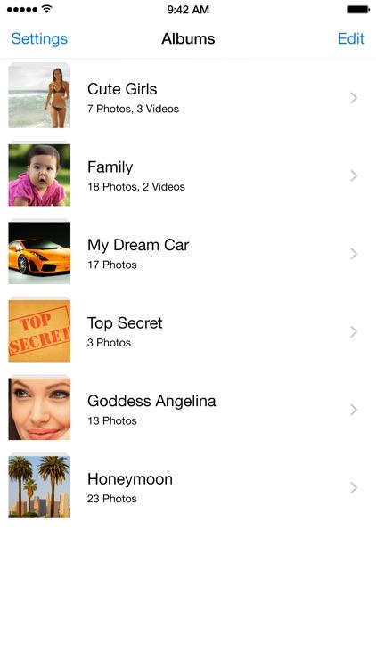 Calculator+ - Hide photos & videos, protect albums in private folder vault app image