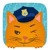 Crianças Carro de Brinquedo - patrulha da polícia Jogo para meninos e meninas curiosas