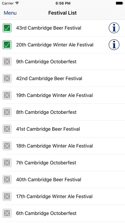 Cambridge Beer Festival screenshot-3